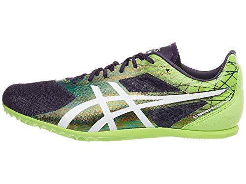 ASICS Unisex Cosmoracer Md Track & Field Shoes, 9.5W, Night Shade/White