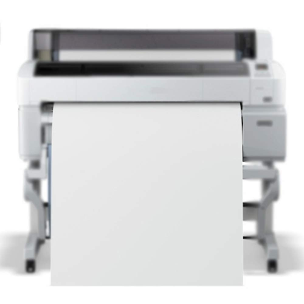 POLICART Pack 4 Rollos Plotter 61 x 50 Metros 90 gr. Impresión de inyección de Tinta de Papel Blanco de mq 50 Core Compatible con HP EPSON Canon: Amazon.es: Hogar