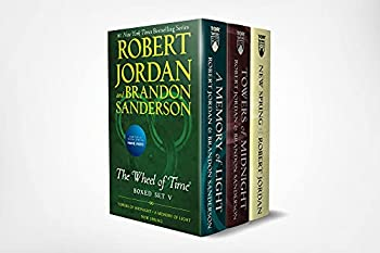 Wheel of Time Premium Boxed Set V  Book 13  Towers of Midnight Book 14  A Memory of Light Prequel  New Spring