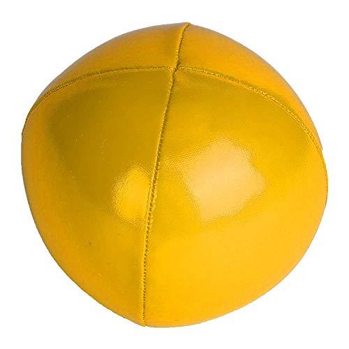 Alomejor Jonglierball 3-TLG Profi Jonglierball Set Clown Jonglierball Set mit Reisetasche(Gelb)