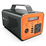 NOVOO Portable Generator 230WHh, Emergency Power Station Outdoor Power Suppply for Laptop, Drone