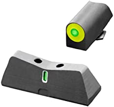 XS Sights New DXT2 Big Dot Night Sight for Glock Pistols, Front and Rear Glow in The Dark Tritium Handgun Sights for Tacti...