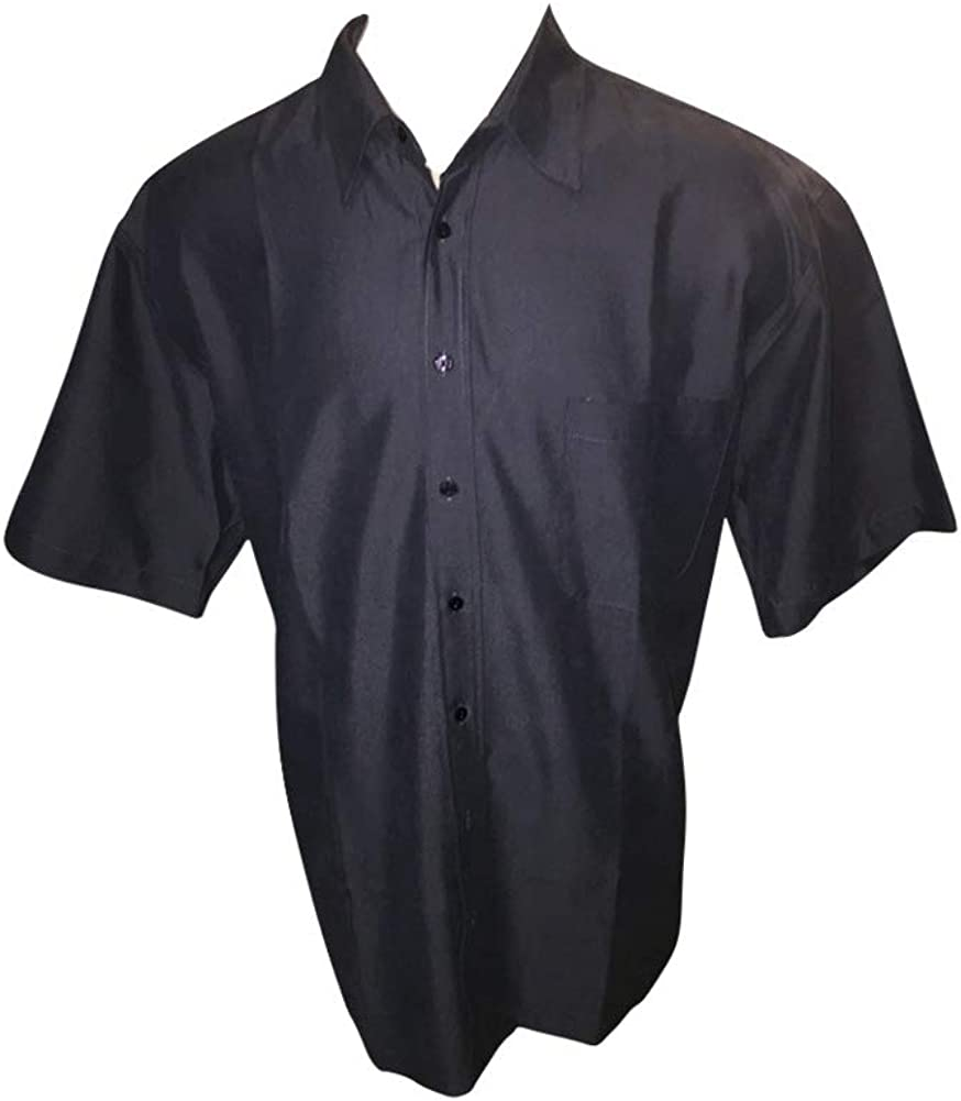 Big and Tall Premium Blended Polynosic Silk Look Shirts in Four Colors