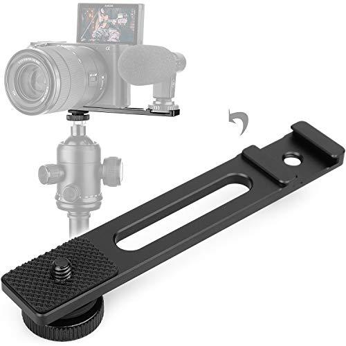 Xinwoer Speedlite Stand Flash Bracket Multifunction Aluminum Alloy Handheld Photography Fill Light Flash Lamp Bracket Holder,for Camera,SLRCamera,Flash Light,etc