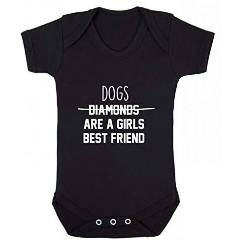 Flox Gilet créatif pour bébé avec inscription Best Friend - Noir - XL