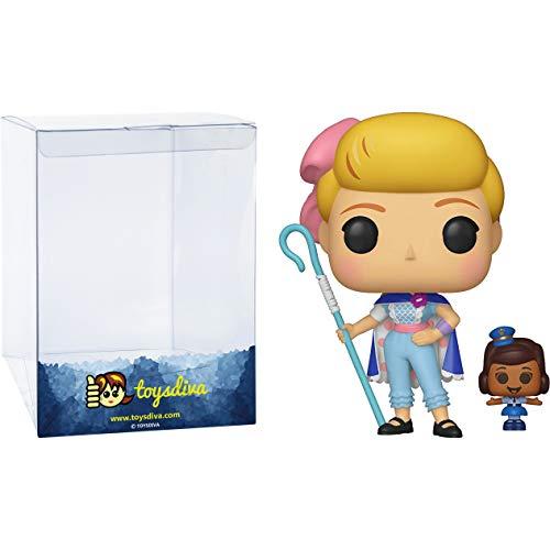 Funko Bo Peep w/ Officer McDimples: Disney Pixar Toy Story 4 x Figura de vinilo POP! Compatible con...