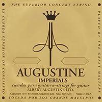AUGUSTINE IMPERIAL/BLACK×1セット オーガスチン インペリアル ブラック クラシックギター弦