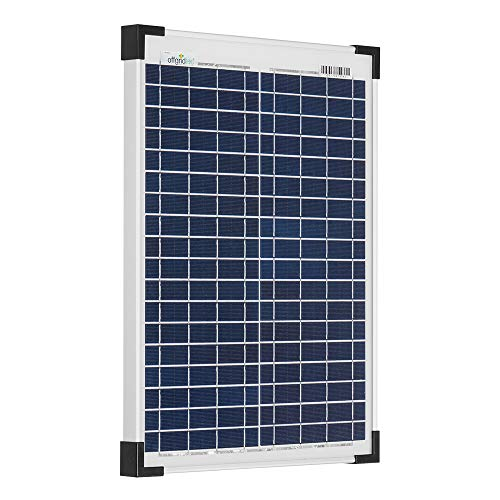 Offgridtec 3-01-001270 - Panel solar (20 W, 12 V)