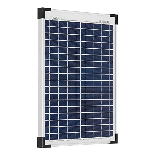 20 Watt Solarmodul Poly-kristallin 12V Solarpanel Offgridtec Solarzelle