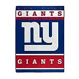 NORTHWEST NFL New York Giants Raschel Throw Blanket, 60' x 80', 12th Man