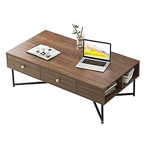 WJMLS Mesa de Centro de Mesa de café con Extremo de sofá con Patas de Metal Moderna Mesa para Sala de Estar Tabla de TV de Mesa TV Mesa de Acento Mesa de Centro de Mesa