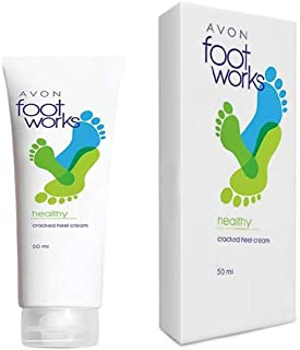 Avon Healthy Super Softening Blam Baume Adoucissant Foot Works Cracked Heel Relief Cream (50 Ml)