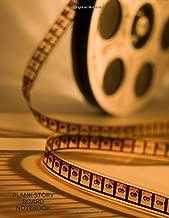 Blank Story Board Notebook: Movie Making Logbook Notebook Planner, Creative Sketchbook Notepad, Template Write In Log Book, Movie Diary, Film Log, ... and Man (Creative Writing & Sketching)