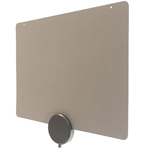 Mohu MH-110822 ReLeaf Indoor TV Antenna, Made with Recycled Materials, 4K-Ready HDTV, 30 Mile Range