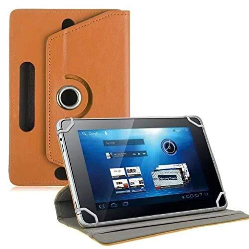 DBSUFV Estuche Plano Universal de 7 Pulgadas patrón de Cristal Estuche Protector Universal Estuche Universal de Cuero para Tableta