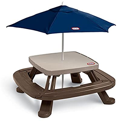 451A Little Tikes Fold 'n Store Table with Market Umbrella
