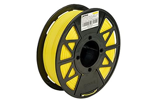JANBEX PLA Filament 1.75 mm 1 kg Roll for 3D Printer or Pen in Vacuum Packaging (Lemon Yellow)