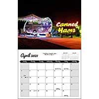 Vintage Nights 2021 Wall Calendar of Vintage Travel Trailers
