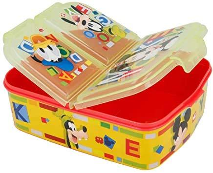 Mickey Mouse - Fiambrera para niños, diseño de Mickey Mouse