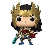 Funko Pop Heroes : Wonder Woman 80th Anniversary - Wonder Woman (Death Metal Exclusive) Figure Gift ...