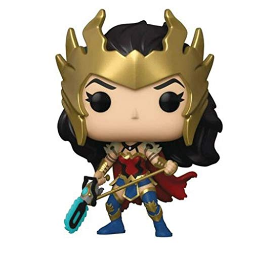 Funko Pop Heroes : Wonder Woman 80th Anniversary - Wonder Woman (Death Metal Exclusive) Figure Gift Vinyl 3.75inch for Heros Movie Fans SuperCollection