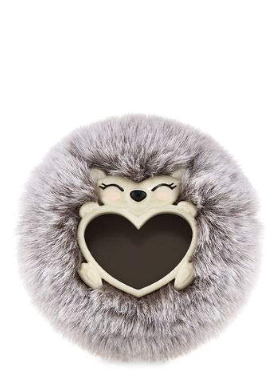 地震工夫する不運【Bath&Body Works/バス&ボディワークス】 クリップ式芳香剤 セントポータブル ホルダー (本体ケースのみ) フラッフィーヘッジホッグ ハリネズミ Scentportable Holder Fluffy Hedgehog [並行輸入品]