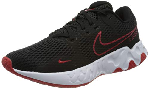 Nike Renew Ride 2, Zapatillas para Correr Hombre, Black Univ Red White, 43 EU
