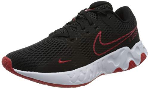 Nike Renew Ride 2, Zapatillas para Correr Hombre, Black Univ Red White, 44.5 EU