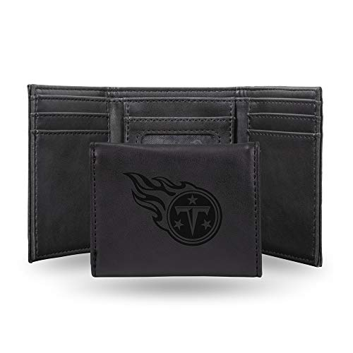 NFL Rico Industries Laser Engraved Trifold Wallet,