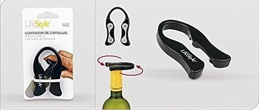 Bluelover Botella De Champagne Vino Rojo F/ácil Hoja Cortador Abridor Vino Herramienta