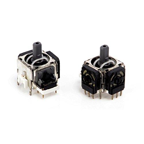 Neuftech 2X 3D Joystick Analog Sticks Sensor Modul Ersatz für PS4 Playstation 4 Controller