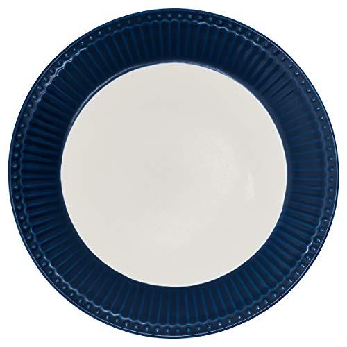 Assiette en porcelaine Alice Dark Blue de Greengate.