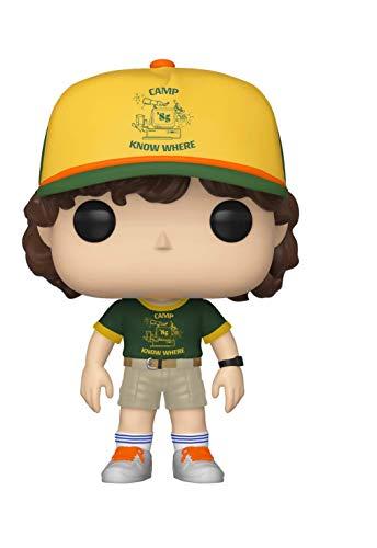 Funko- Pop Vinilo: Stranger Things: Dustin (At Camp) Figura Coleccionable,...