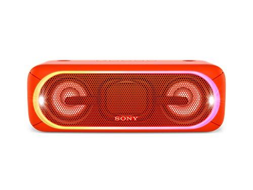 Sony SRS-XB40R - Altavoz inalámbrico portátil con Bluetooth y Extra Bass, Rojo