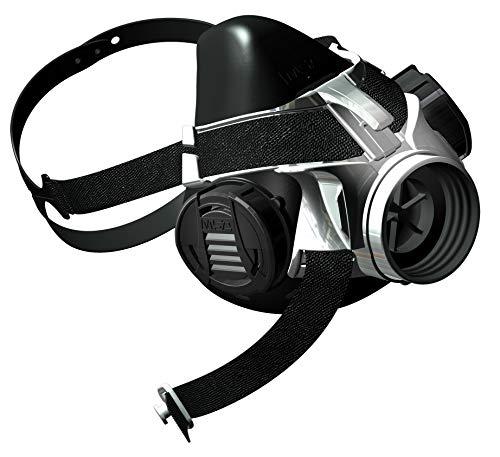Mascarilla MSA Advantage 400 | Máscara gas seguridad para protección y confort | Advantage 410 pequeña, conex. filtro rosca Rd 40x1/7