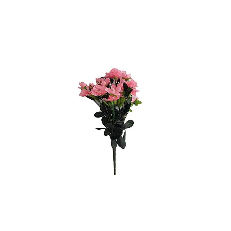 silk flower arrangements efavormart 120 pcs artificial gardenias flowers for diy wedding bouquets centerpieces arrangements party home decoration - pink