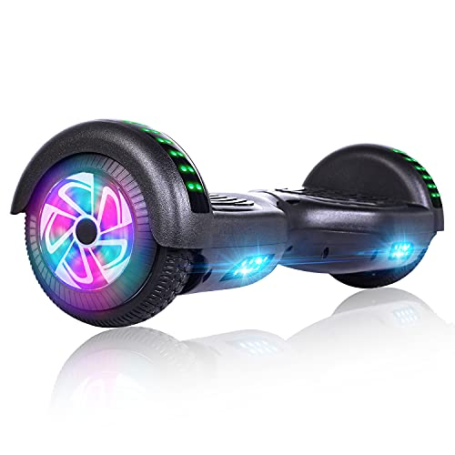 Felimoda Hoverboard, Self Balancing Hoverboard with 6. 5 Inches LED Wheels for Kids