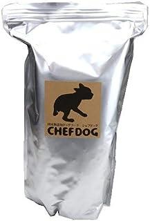 シェフドッグ フィッシュ 小粒 ドッグフード シニア アレルギー 2.1kg 国産無添加 子犬