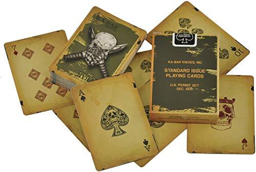Ka-Bar KA9914,Completo juego de cartas