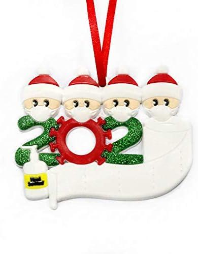 ForPeak Quarantine El Paso Mall Christmas Ornament Xmas Ornaments C Rapid rise 2020 Tree