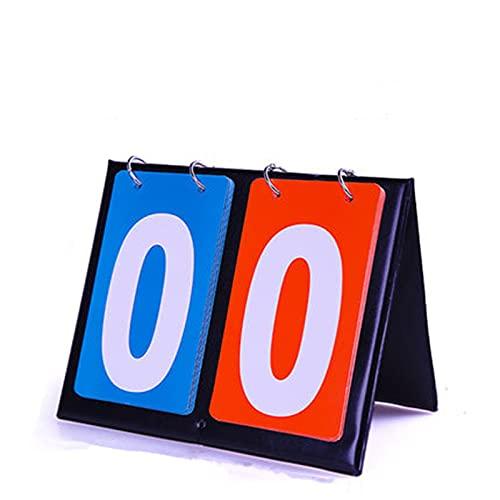 Deportivo Marcador El Registro de Billiards Integral Puede Girar el Juego de marcadores del Juego de Baloncesto Encienda el Marcador Gran Aplicación (Color : Black, Size : 20x16x13cm)