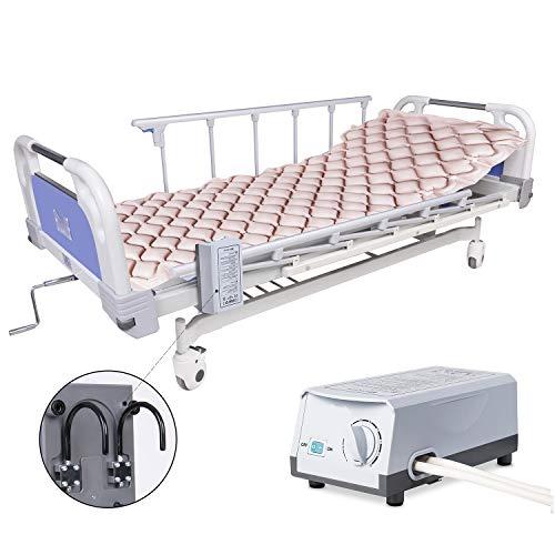 Materasso antidecubito con compressore, Materasso antidecubito ad aria, a pressione alternata