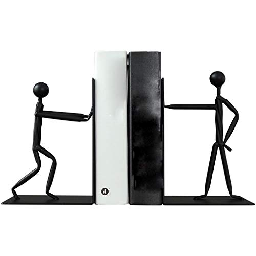 NYKK Art Decorative Statue Abstract Creative People Book Ends Ornaments Decorations Office Study Desk Bookcase Bookcase Small Home Furnishings Home Décor Products