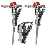 Soporte para cañas de pescar Updated, 2 unidades, Soporte para caña de pescar con Soporte Automático para cañas de Pescar, Acero Inoxidable, soporte Ajustable y Sensibilidad Ajustable