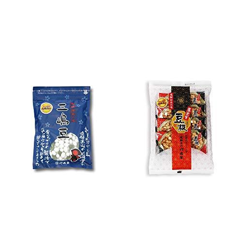 [2点セット] 飛騨 打保屋 駄菓子 三嶋豆(150g)・飛騨銘菓「打保屋」の駄菓子 豆板(8枚入)