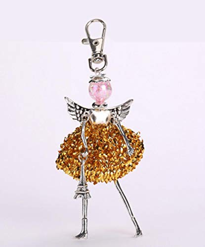 Zent New Doll Baby niedlich Frauen Schlüsselbund Auto Anhänger Mädchen Handgemachte Mode Schmuck Tasche Schlüsselanhänger Schlüsselanhänger, Foto Farbe 55
