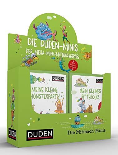 32er Duden Minis (Box 6): Der Mega-Mini-Mitmachspaß