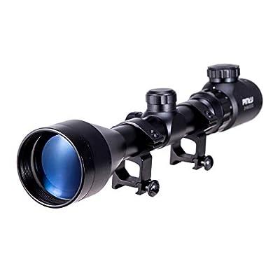 Pinty 3-9x50 Red Green Rangefinder Illuminated Optics Sight Scope Hunting Rifle Scope by Pinty