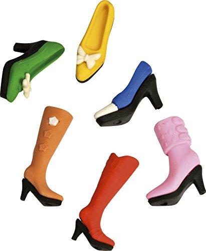 Radiergummi Schuhe 6 Stück im Set