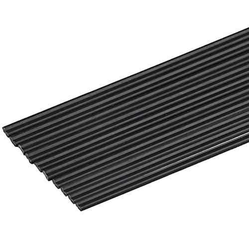 SHHMA Plástico Varillas De Soldadura Material PP PE PVC ABS, Apto para Todo Tipo De Soldaduras, Peso 1 Kg,Negro,PE